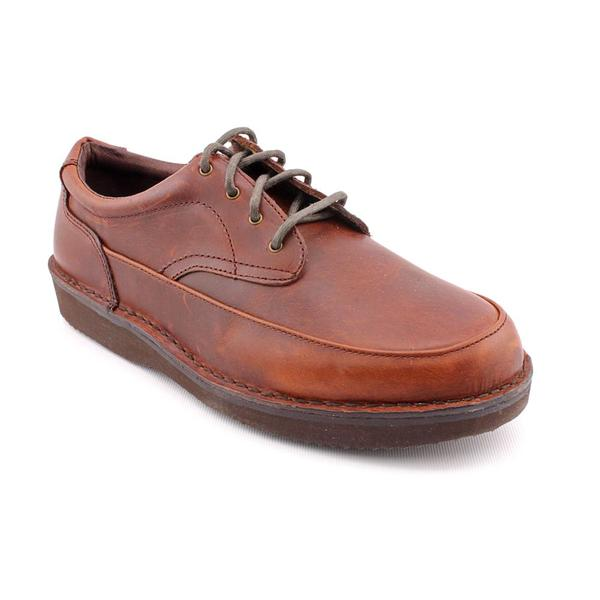 Eva-Tech Men's 'Ultra Walker 4 Eye Oxford' Leather Casual Shoes - Extra Wide (Size  11.5 )