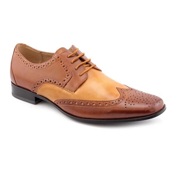 Shop Stacy Adams Men S Nolan Leather Dress Shoes Size 14 Free