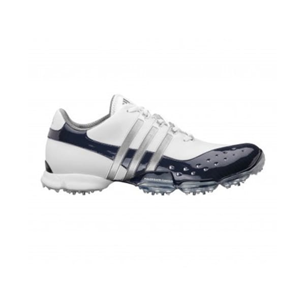 adidas s powerband 3 0 golf shoes white navy silver