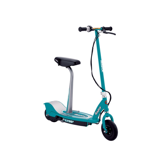 Zooma Electric Scooter Wiring Diagram : Razor e s seated electric scooter teal free shipping