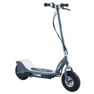 Razor Grey E300 Electric Scooter|https://ak1.ostkcdn.com/images/products/8124124/P15470195.jpg?impolicy=medium