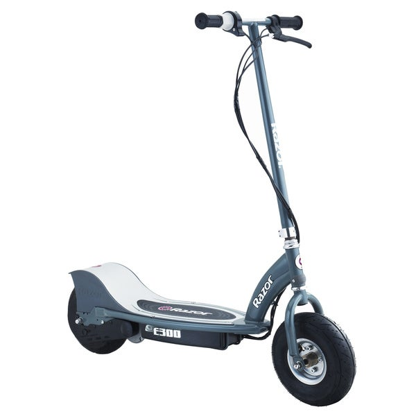 Razor E300 Grey Plastic Electric Scooter