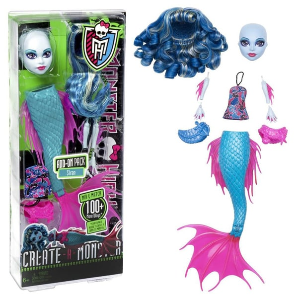 Monster High Siren Create-A-Monster Add-ons