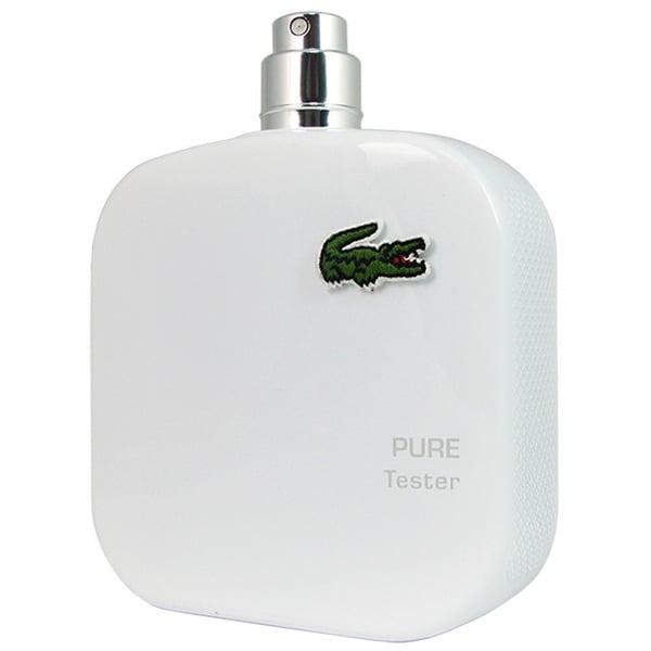 Lacoste L.12.12 Pure Blanc 3.3-ounce Men's Eau de Toilette Spray (Tester) (Unboxed)