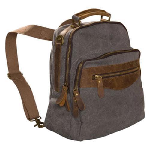 Women's Laurex Convertible Design Backpack Gray - Thumbnail 2