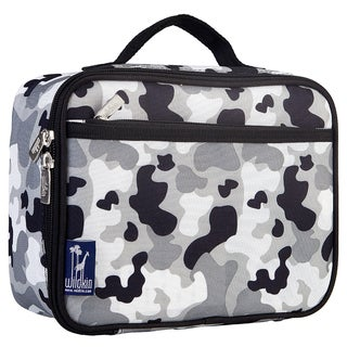 Wildkin Camo Grey Lunch Box