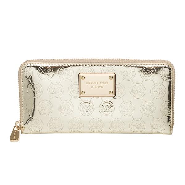 MICHAEL Michael Kors 'Monogram' Zip-around Continental Wallet