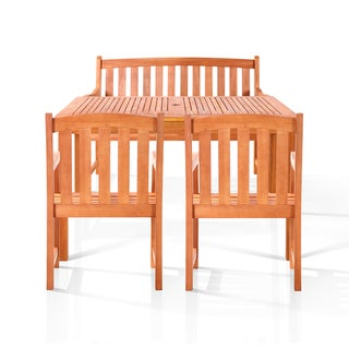 Alameda Eco-friendly Bench Seat Dining Set