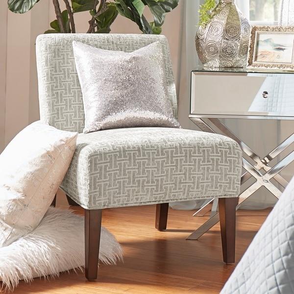 Peterson Grey Link Slipper Chair