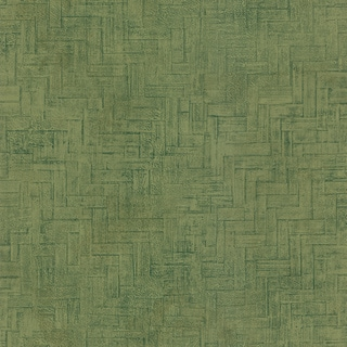 Light Green Faux Wooden Panel Wallpaper