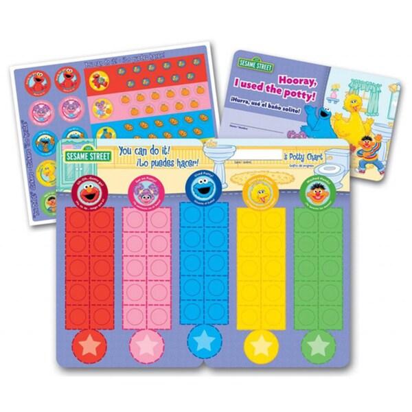 Sesame Street NEW FREE SHIPPING Potty Training Rewards Kit by Ginsey