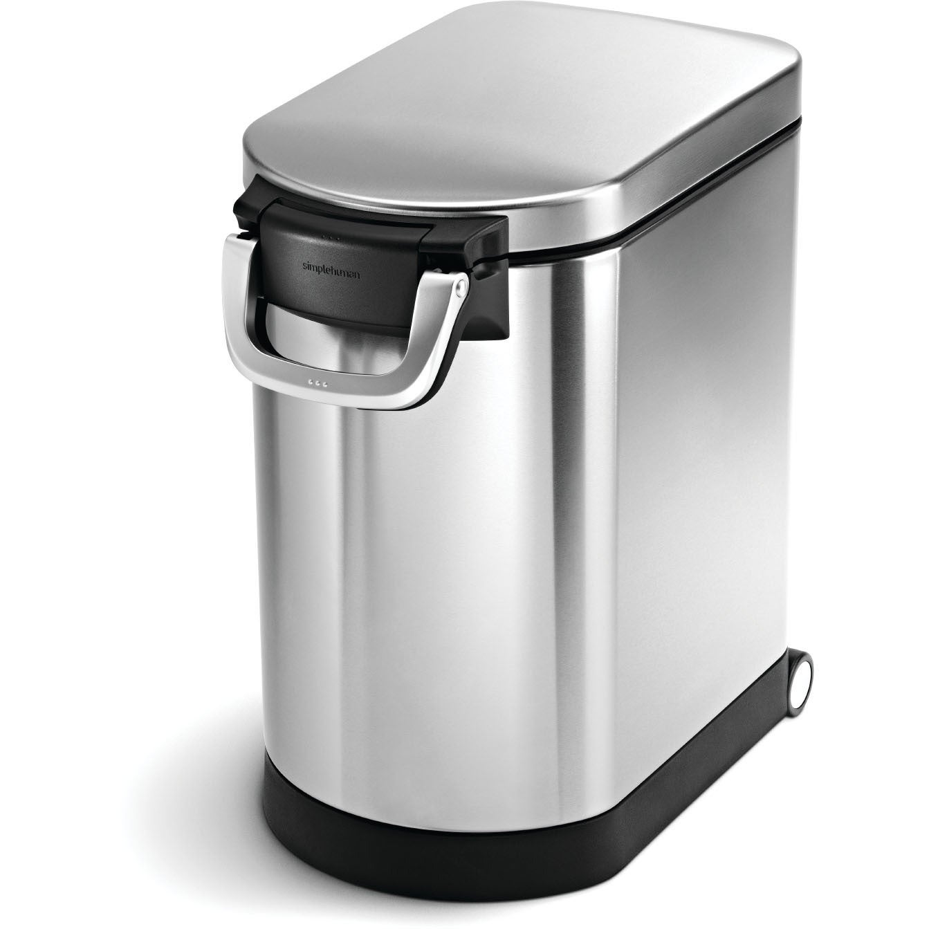 simplehuman Brushed Stainless Steel (Silver) 25-liter/6.5...