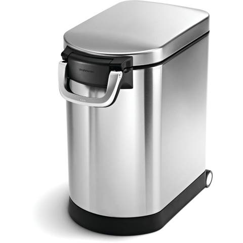 simplehuman Brushed Stainless Steel 25-liter/6.5-gallon Pet Food Storage Can