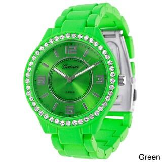 Geneva Platinum Women's Link Watch