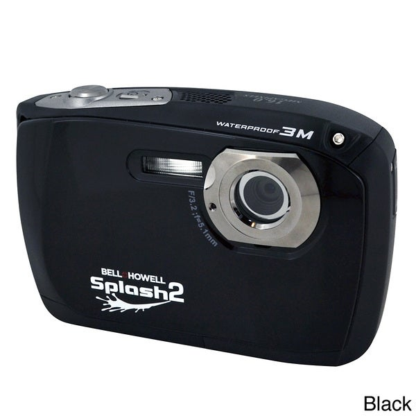 Bell+Howell Splash II WP16 HD 16 MP Waterproof Digital Camera
