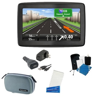 TomTom VIA 1405T Portable GPS Navigator with Lifetime Traffic Bundle
