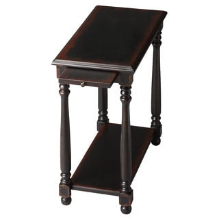 Midnight Rose Chairside Table