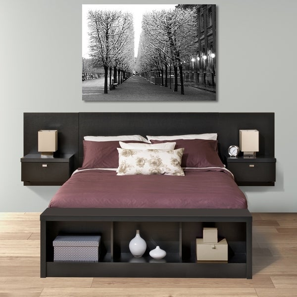 Valhalla Designer Series Floating Queen Headboard Set Free