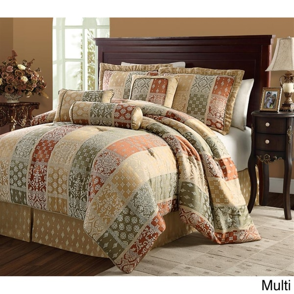 VCNY Firenze 7-piece Jacquard Comforter Set