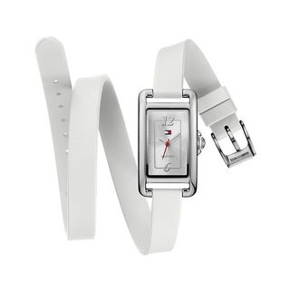 Tommy Hilfiger Women's Sport Double Wrap Silicone Strap Watch