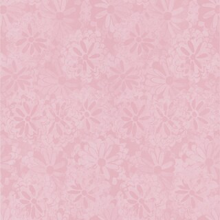 Shop Brewster Pink Floral Texture Wallpaper Free