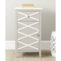 Safavieh Brandy Grey/ White Storage Small Cabinet