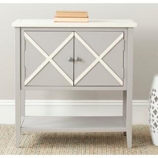 Safavieh Polly Grey/ White Storage Sideboard