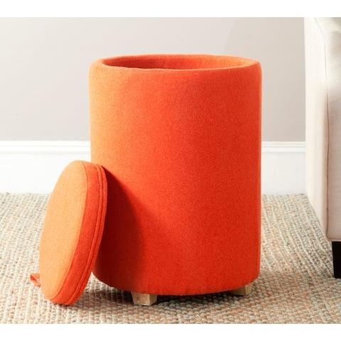 Safavieh Jeannie Burnt Orange End Table