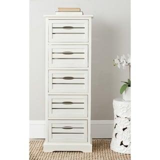 Safavieh Sarina Grey Storage 5-Drawer Cabinet
