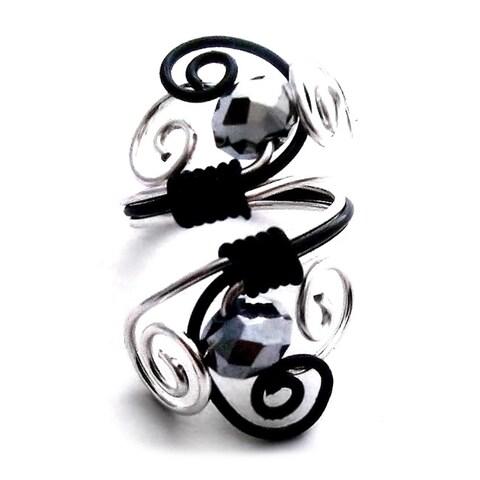 Handmade Spiraled Wire Ring