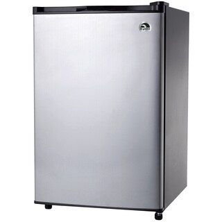 Igloo FR465 4.6 Cubic Feet Stainless Steel Compact Refrigerator