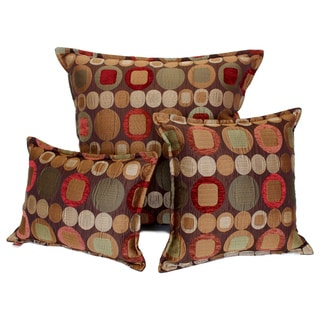 Sherry Kline Metro Spice Pillows (Set of 3)