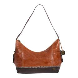 Women's THE SAK Kendra Hobo Brown Snake Multi