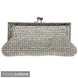 J. Furmani Women's 'Elegance' Allover Crystal Evening Bag