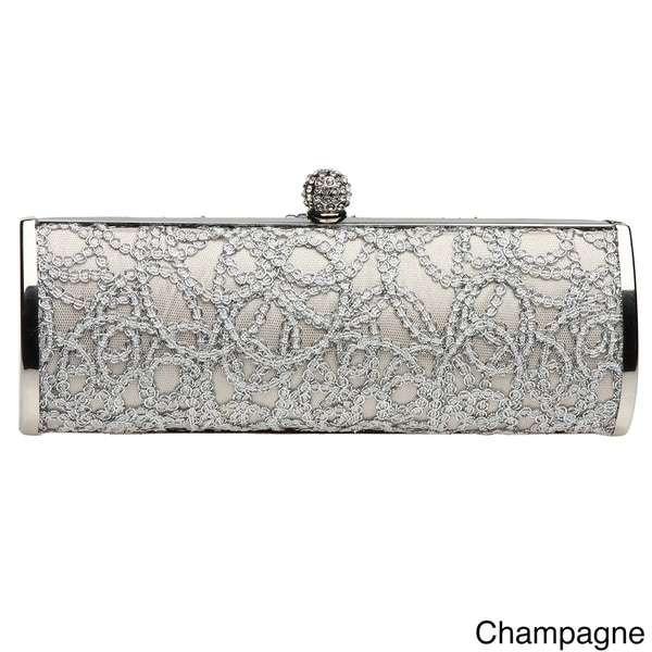 J. Furmani Sequined Lace Evening Bag