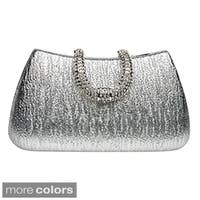 J Furmani 'Reese' Metallic Hardcase Evening Bag