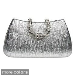 J Furmani 'Reese' Metallic Hardcase Evening Bag