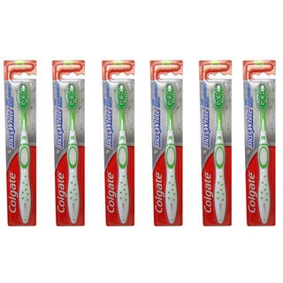 Colgate Max White Medium Full Head #61 Toothbrush (Pack of 6)