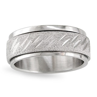 Link to Miadora Stainless Steel Men's Spinner Ring Similar Items in Rings