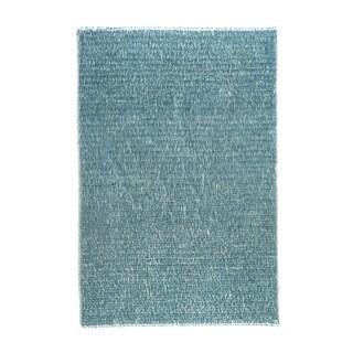 Hand-tufted Elle Ocean Shag Rug (2'3 x 3'9)