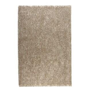 Hand-tufted Elle Bronze Shag Rug (2'3 x 3'9)