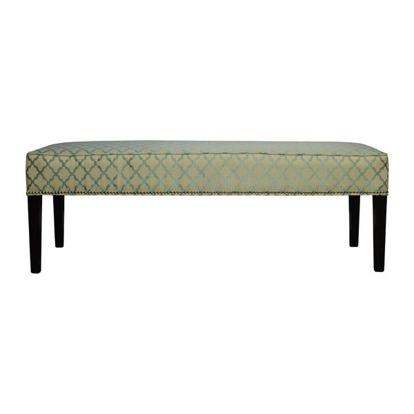 Overstock Foyer Bench : Diane eddy teal bench free shipping today overstock