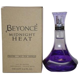 Beyonce Midnight Heat Women's 3.4-ounce Eau de Parfum Spray (Tester)
