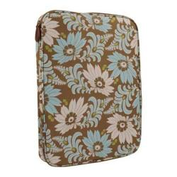 Women's Amy Butler NOLA Laptop Wrap Turquoise Fern Flower