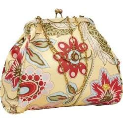 Women's Amy Butler Nora Clutch with Chain Deco Blooms