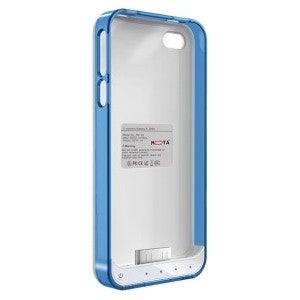 TAMO iPhone 4/4s Extended Battery Case - Blue