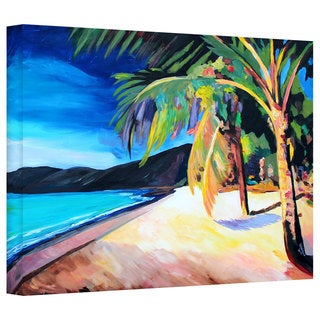 Markus Bleichner 'Magen's Bay St.Thomas Virgin Islands' Gallery Wrapped Canvas