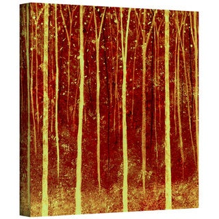 Herb Dickinson 'Deep Forest' Gallery Wrapped Canvas