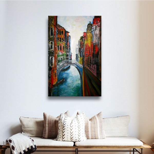 Martina Bleichner 'Venice Grand Canale' Gallery Wrapped Canvas