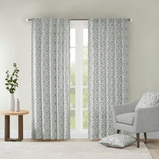 Madison Park Adria Cotton Curtain Panel - Free Shipping On Orders ...